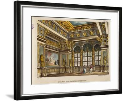 Room in the Palace of Elmiro, from 'Othello'-Alessandro Sanquirico-Framed Giclee Print