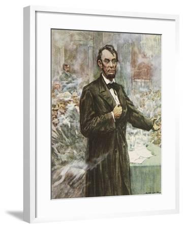 Abraham Lincoln-Arthur C. Michael-Framed Giclee Print