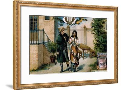 Illustration for Act I, Scene VI of Mignon-Charles Louis Ambroise Thomas-Framed Giclee Print