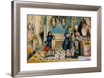 Illustration for Act II, Scene III of Mignon-Charles Louis Ambroise Thomas-Framed Giclee Print