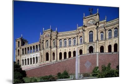 Maximilianeum, Seat of Bavarian Parliament in Munich, 1874-Friedrich Burklein-Mounted Giclee Print
