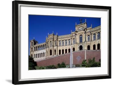 Maximilianeum, Seat of Bavarian Parliament in Munich, 1874-Friedrich Burklein-Framed Giclee Print