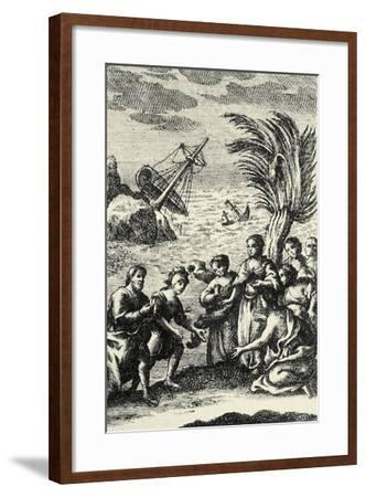 Adventures of Telemachus--Framed Giclee Print