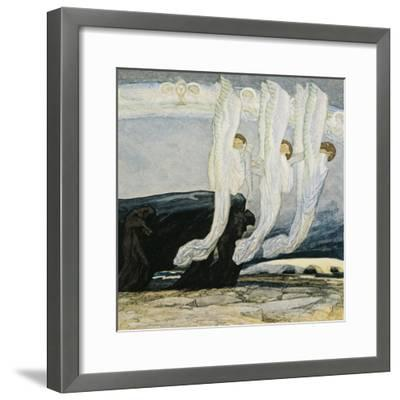 Their Malison Hath No Condemning Power, So Fixed, That Love Eternal Cannot Bend-Dante Alighieri-Framed Giclee Print