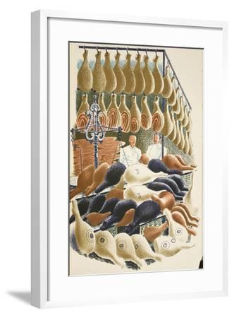 Hams-Eric Ravilious-Framed Giclee Print