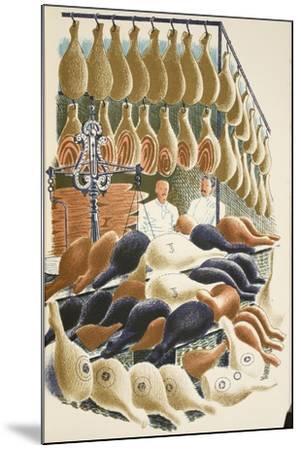 Hams-Eric Ravilious-Mounted Giclee Print