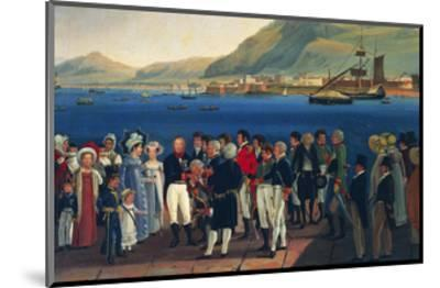 Infante Carlos, Duke of Calabria's Departure from Palermo to Naples-Giovanni Cobianchi-Mounted Giclee Print