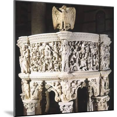 Italy, Cathedral of Pisa, Pergamon or Pulpit, 1301-1310-Giovanni Pisano-Mounted Giclee Print