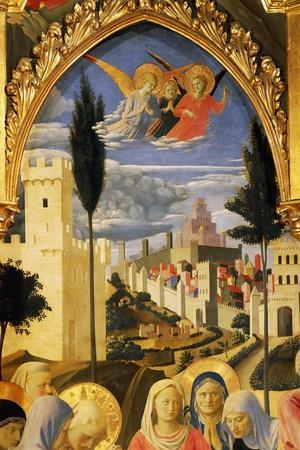 Deposition from the Cross or Altarpiece of Holy Trinity, Circa 1432-Giovanni Da Fiesole-Stretched Canvas Print