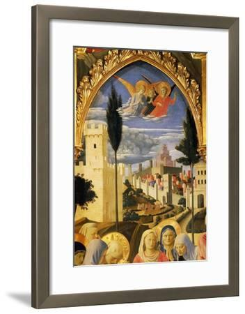 Deposition from the Cross or Altarpiece of Holy Trinity, Circa 1432-Giovanni Da Fiesole-Framed Giclee Print