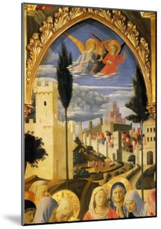 Deposition from the Cross or Altarpiece of Holy Trinity, Circa 1432-Giovanni Da Fiesole-Mounted Giclee Print