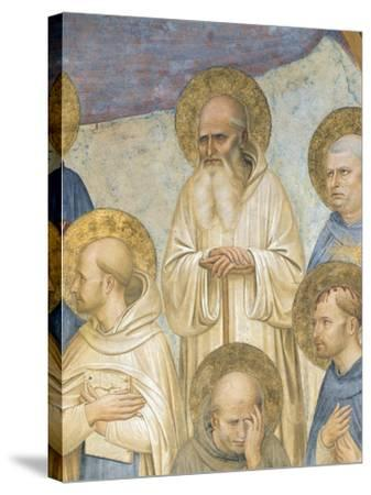 Crucifixion with Saints, 1441-1442-Giovanni Da Fiesole-Stretched Canvas Print