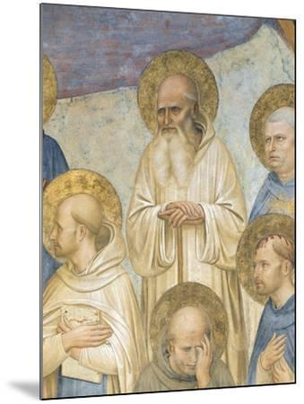 Crucifixion with Saints, 1441-1442-Giovanni Da Fiesole-Mounted Giclee Print