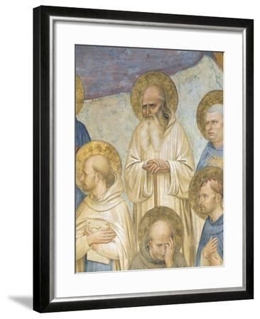 Crucifixion with Saints, 1441-1442-Giovanni Da Fiesole-Framed Giclee Print