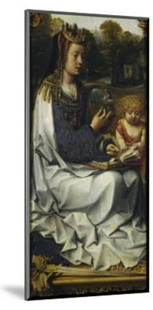 St Dorothy, Detail from Left Panel of Malvagna Triptych, Right-Hand Side, 1511-1515-Jan Gossaert-Mounted Giclee Print