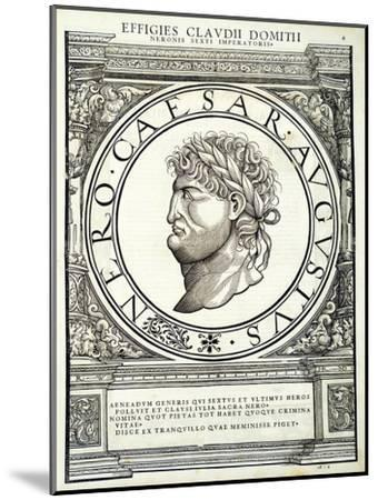 Nero-Hans Rudolf Manuel Deutsch-Mounted Premium Giclee Print