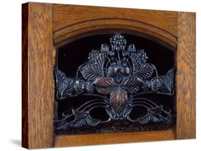 Art Nouveau Style Welsh Dresser, Part of Dining Room Set, 1905-1908-Henri Bellery-desfontaines-Stretched Canvas Print