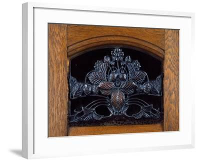 Art Nouveau Style Welsh Dresser, Part of Dining Room Set, 1905-1908-Henri Bellery-desfontaines-Framed Giclee Print