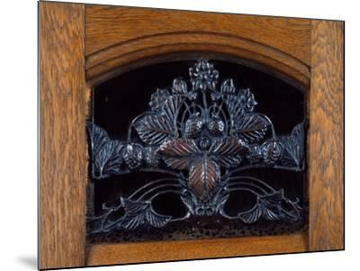Art Nouveau Style Welsh Dresser, Part of Dining Room Set, 1905-1908-Henri Bellery-desfontaines-Mounted Giclee Print