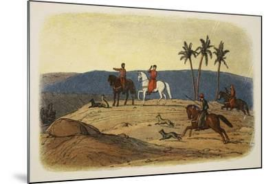 King Richard I Refuses to Look Upon the Holy City-James William Edmund Doyle-Mounted Giclee Print