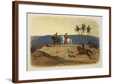 King Richard I Refuses to Look Upon the Holy City-James William Edmund Doyle-Framed Giclee Print