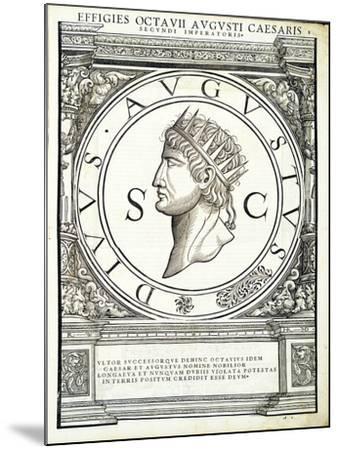 Octavianus Caesar-Hans Rudolf Manuel Deutsch-Mounted Giclee Print