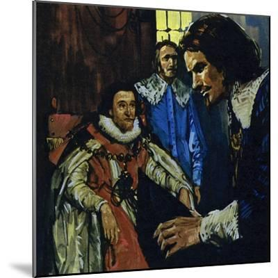 Van Dyck Came to the Attention of the Earl of Arundel Who Introduced Him to King James I-Luis Arcas Brauner-Mounted Giclee Print