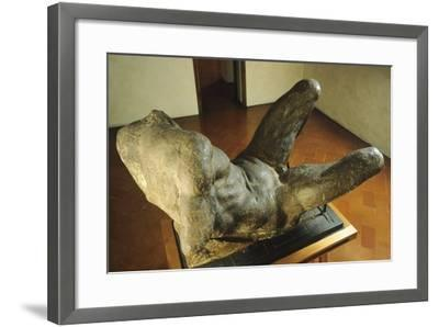 Model for the Personification of River for the New Sacristy of San Lorenzo--Framed Giclee Print