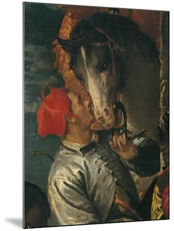 Figure of Groom, Detail from Adoration of Magi-Paolo Caliari-Mounted Giclee Print