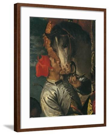 Figure of Groom, Detail from Adoration of Magi-Paolo Caliari-Framed Giclee Print