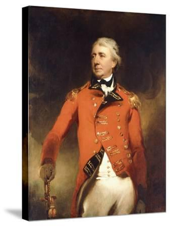 Portrait of General James Stuart Standing Three-Quarter Length-Thomas Lawrence-Stretched Canvas Print