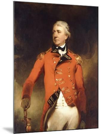 Portrait of General James Stuart Standing Three-Quarter Length-Thomas Lawrence-Mounted Giclee Print
