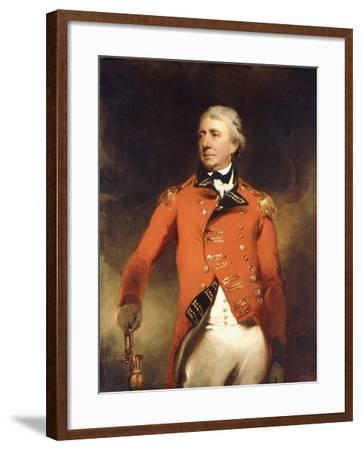 Portrait of General James Stuart Standing Three-Quarter Length-Thomas Lawrence-Framed Giclee Print