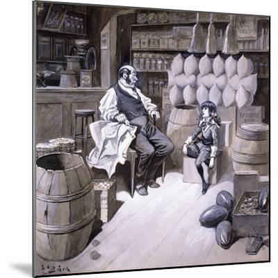 Mr. Hobbs-Reginald Bathurst Birch-Mounted Giclee Print