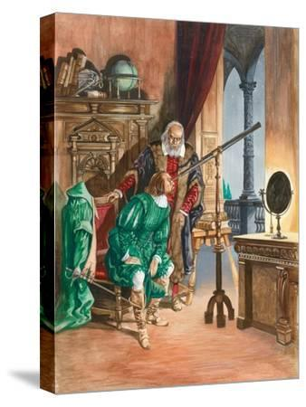 Galileo-Peter Jackson-Stretched Canvas Print
