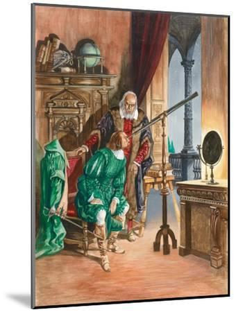 Galileo-Peter Jackson-Mounted Giclee Print