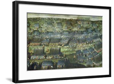 The Battle of White Mountain Near Prague on 7-8 November 1620-Pieter Snayers-Framed Giclee Print