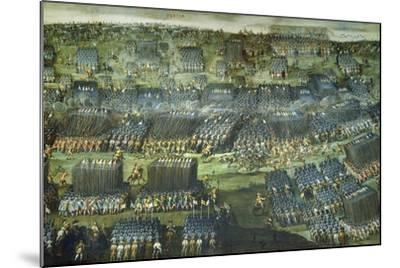 The Battle of White Mountain Near Prague on 7-8 November 1620-Pieter Snayers-Mounted Giclee Print