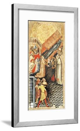 Upper Section, Healing of Sofia, Daughter of Emperor Constantine, at Funeral of Anthony-Vitale da Bologna-Framed Giclee Print