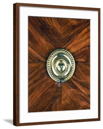 Louis XVI Style Oak and Spruce Commode Inlaid with Amaranth and Madagascar Rosewood--Framed Giclee Print