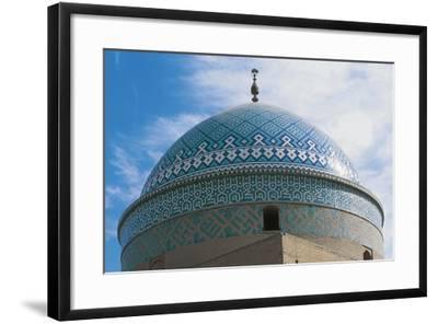 Dome of Shrine of Davazadeh Imam or Maghbareh-Ye Davazdah Emam--Framed Giclee Print