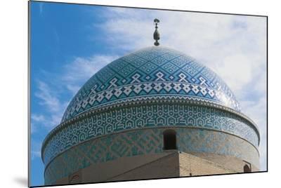 Dome of Shrine of Davazadeh Imam or Maghbareh-Ye Davazdah Emam--Mounted Giclee Print
