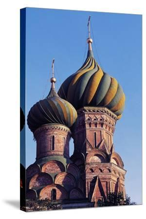 View of Cathedral of Protection of Most Holy Theotokos on Moat--Stretched Canvas Print