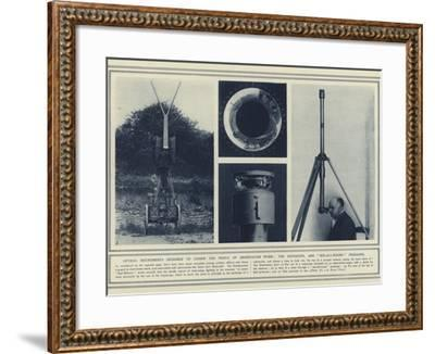 Optical Instruments Designed to Lessen the Perils of Observation Work--Framed Photographic Print