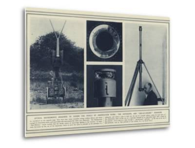 Optical Instruments Designed to Lessen the Perils of Observation Work--Metal Print