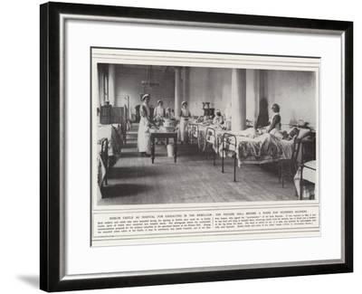 Dublin Castle as Hospital for Casualties in the Rebellion--Framed Photographic Print