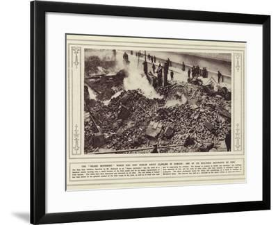 The Insane Movement Which Has Cost Dublin About £2--Framed Photographic Print