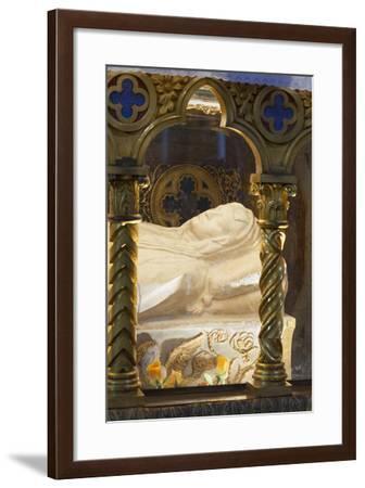 Sarcophagus of Saint Catherine of Siena--Framed Photographic Print