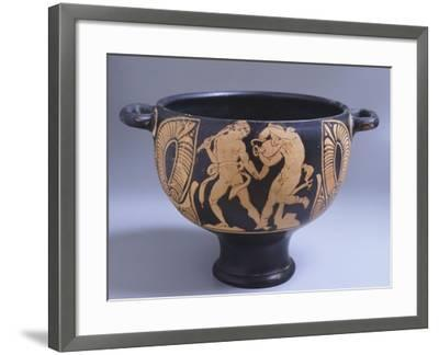 Skyphos Attributed to the Spina Painter--Framed Giclee Print