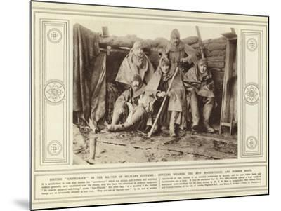 British Ascendancy in the Matter of Military Clothing--Mounted Photographic Print